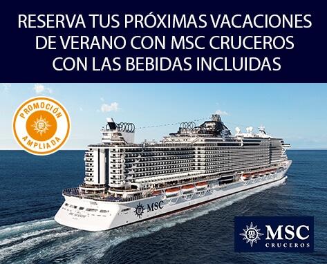 Banner Cruceros Msc - Todo Incluido